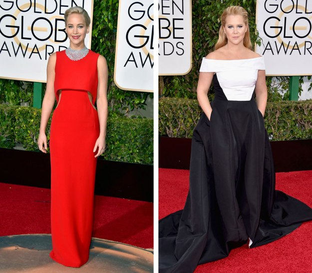 Photos Courtesy of E!Online. BFF Goals Jennifer Lawrence and Amy Schumer