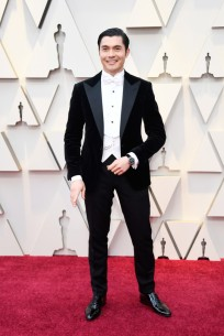 Henry Golding in Ralph Lauren