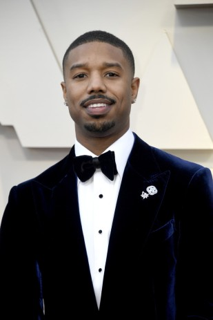 Michael B. Jordan in Tom Ford